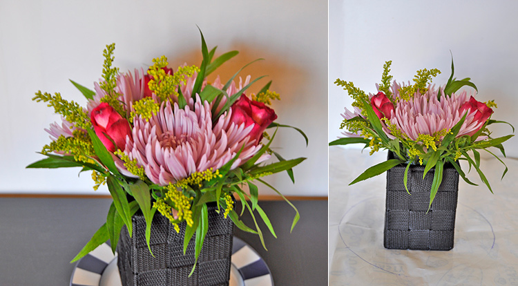 3 How to - How to make flower arrangement. Secondary flowers and fill in the gaps.