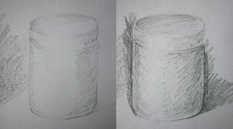 3 How to - 5 steps to start drawing. practice draw an object