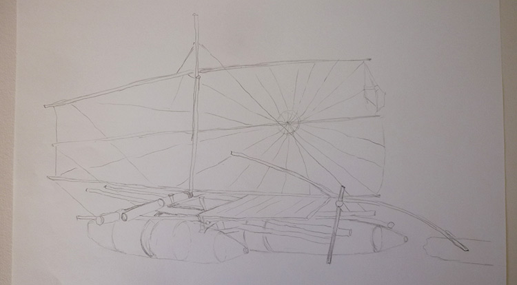 3 How to - 5 steps to start drawing. Reduce objects