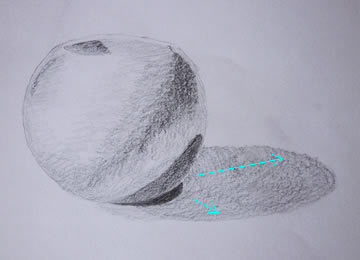 3 How to, How to draw light, shading and texture. lights and shadings. Sketch the object and tone shading.
