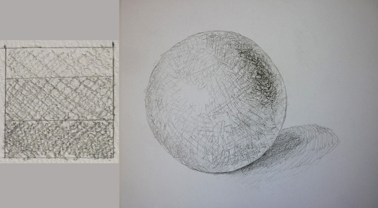 3 How to, How to draw light, shading and texture. lights and shadings. Use your shading style patterns on an object.