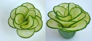 Cucumber flower with 12 petals