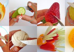 3 How to, how to use a paring knife