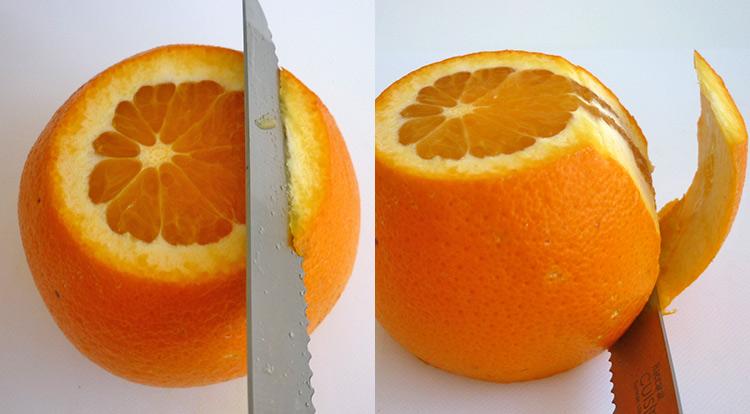 Orange art, remove orange peel step 3