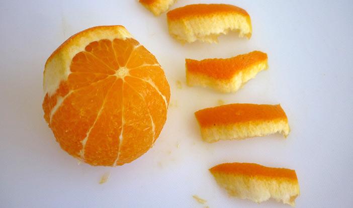 Orange art, remove orange peel step 5