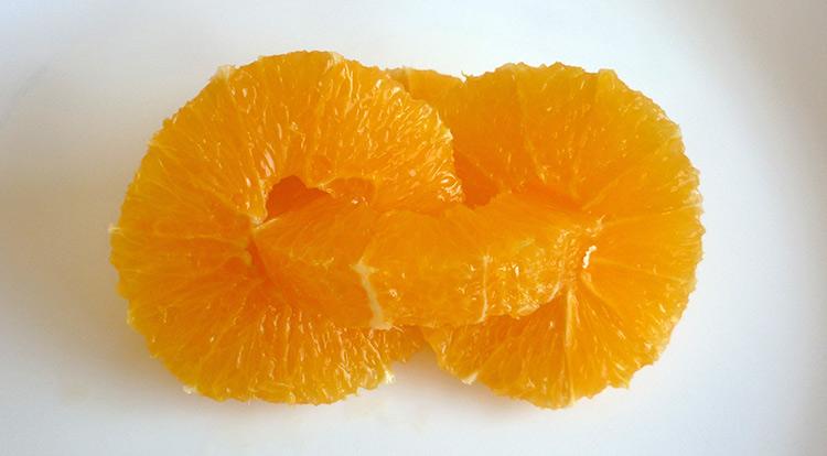 Orange art, Orange chain, chain orange together step 6