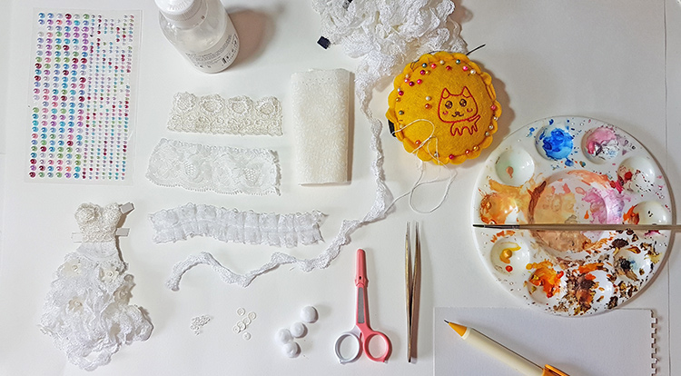 how-to-make-a-lace-flowery-dress-need